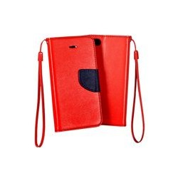 Pouzdro Iphone X červená-modrá