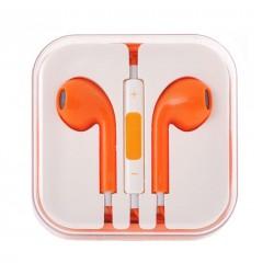 Sluchátka Mega bass (oranžové)