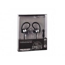 Sportovní sluchátka (černé)